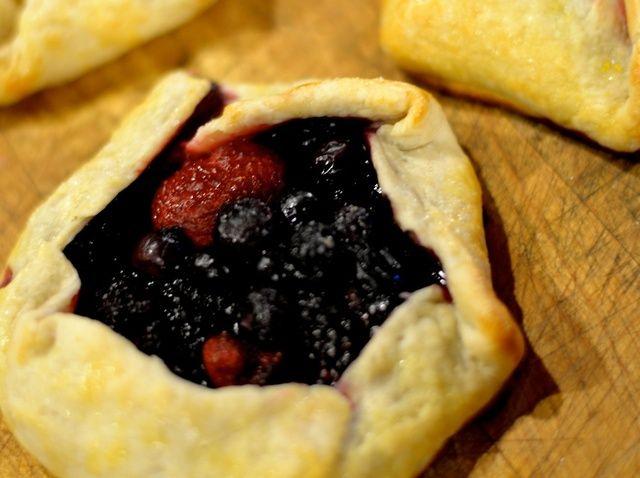 Cómo hacer Saludable Berry Galettes Receta