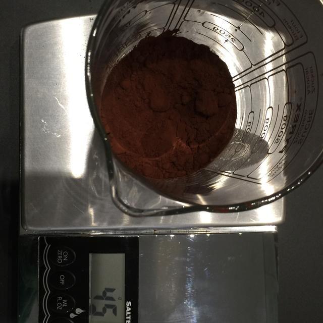 Añadir 45 g de jarabe