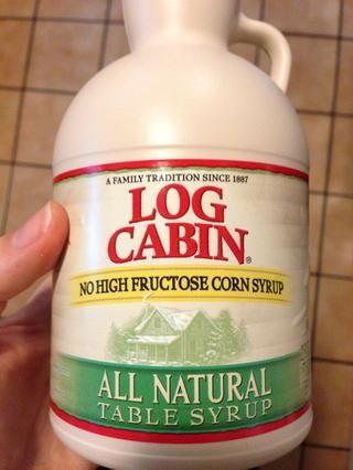 Agregue su jarabe de arce natural!