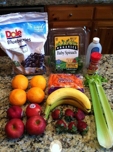 Cómo hacer Frutas y Vegetales Saludable Smoothie receta