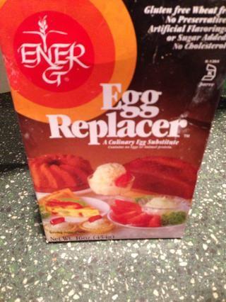 Tengo una alergia al huevo y optar por esto, pero añadir 1 huevo en lugar si se puede tolerar.