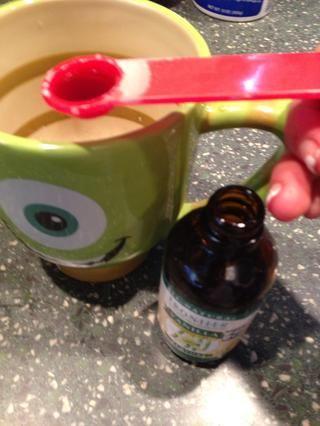 Cucharadita de extracto de vainilla sin alcohol