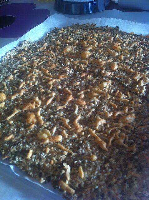Cómo hacer galletas de semilla sana Receta