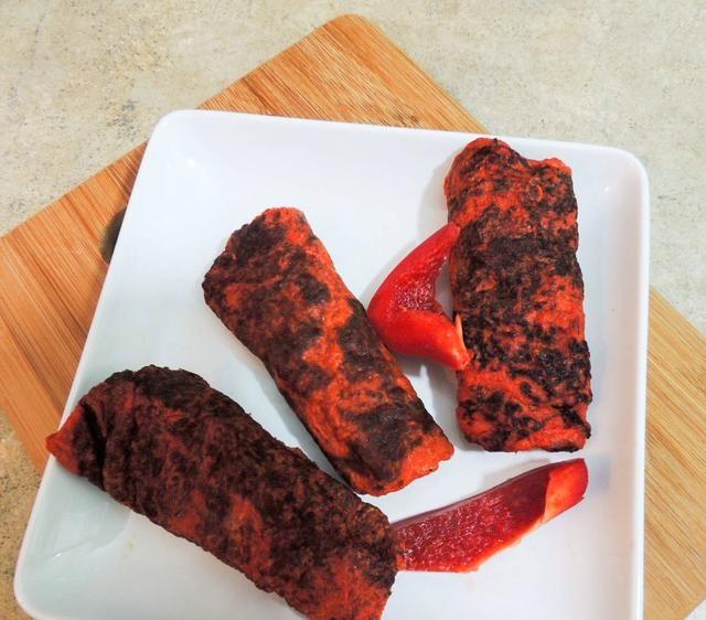 Hecho :) Estas seguro son deliciosos y saludables. Como la idea? Pruébalo, tal vez hacer su's with green pepper