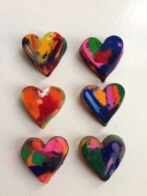 Cómo hacer Crayons Corazón y pasar un buen rato con su hijo