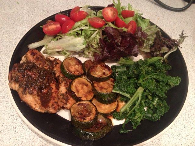 Cómo hacer Herby limón pollo #Healthyeating Receta