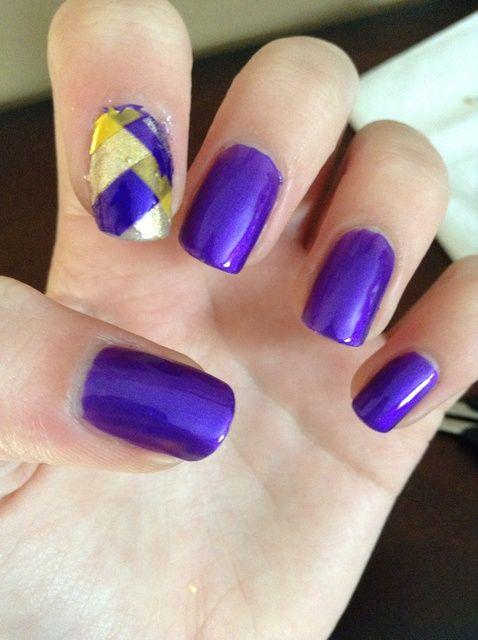 Cómo hacer espiga Nail Art