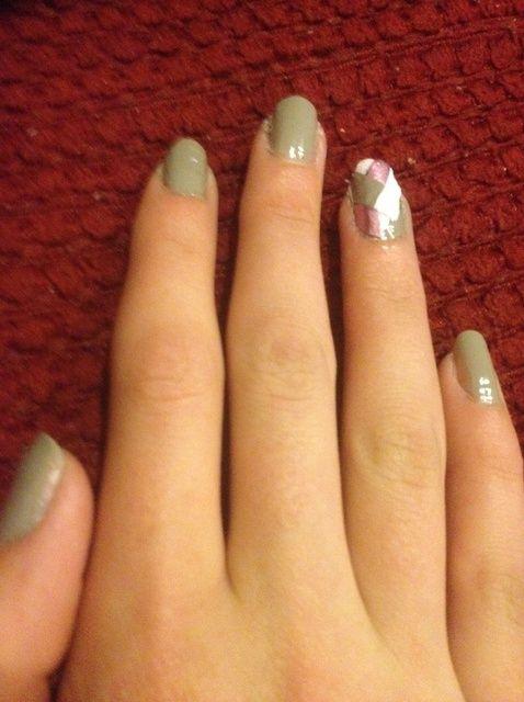 Cómo hacer espiga Nails