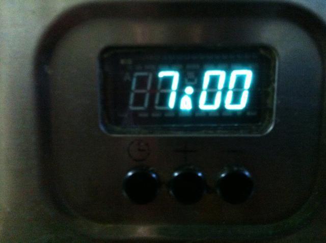 Cocine a fuego medio-alto durante exactamente 7 minutos. No revuelva durante este paso.