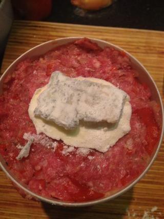 Coloque el queso en el medio