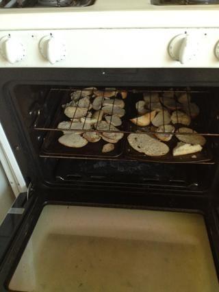 En el horno durante 15 a 20 minutos a 300 ° F.