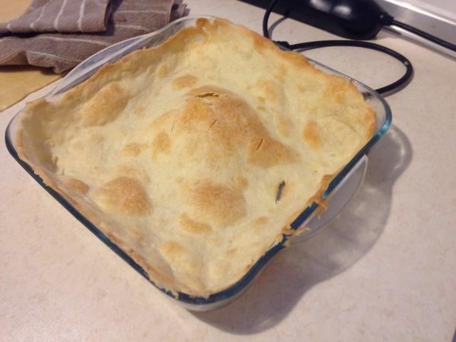 Yo al horno la corteza de pastel en el centro del horno durante 10 minutos hasta que estén doradas. Consulte la página siguiente para la punta ..