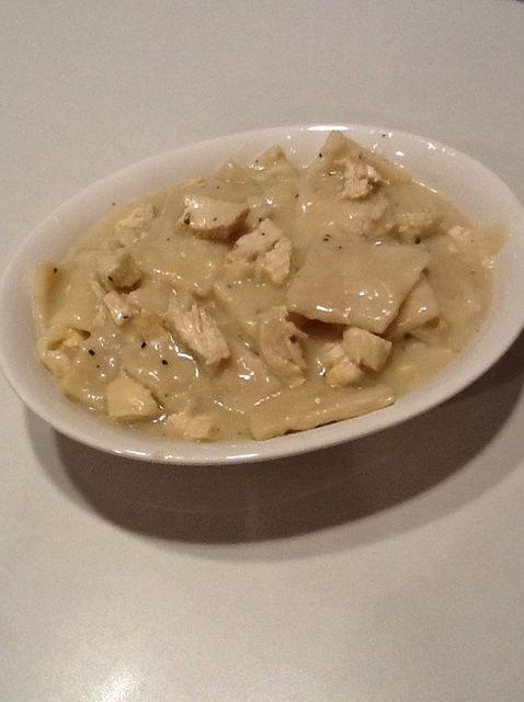 Cómo hacer pollo hecha en casa'N Dumplings Recipe