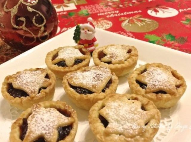 Cómo hacer casera Butter Navidad Mince Pies Receta