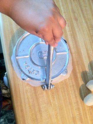 Utilice la palanca / mango hacia abajo con un poco de presión