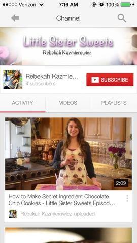 Para más, fácil, recetas de vídeo, echa un vistazo a mi nuevo canal de YouTube !! :) Simplemente busca Rebeca Kazmierowicz, o haga clic en el enlace en mi biografía! gracias chicos ??????