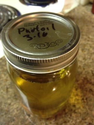 Guardar y Colar el aceite si se quiere, papas falafel bastante limpio.