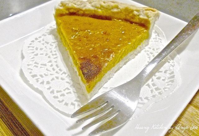 Este pastel de calabaza fresca tiene un sabor tan delicioso, incluso cuando se sirve llanura.