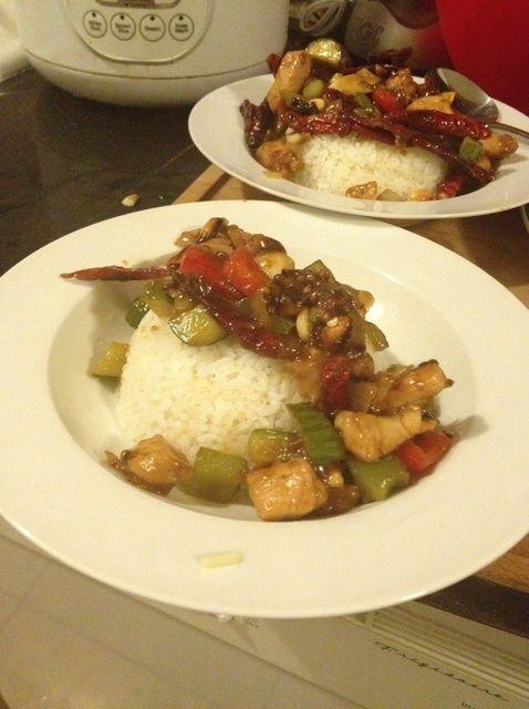 Cómo hacer casera Gong Bao Salsa Con Receta de Pollo