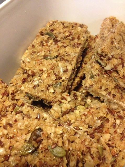 Cómo hacer barras de granola casera (Vol. 2) Receta