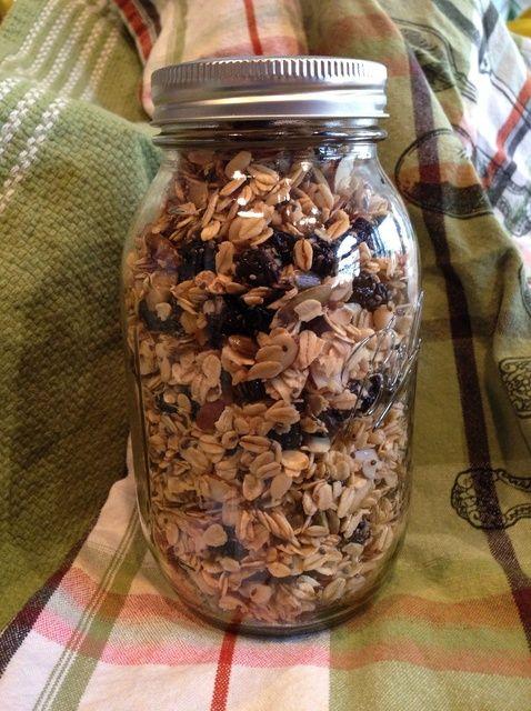 Cómo hacer casera granola saludable. Receta