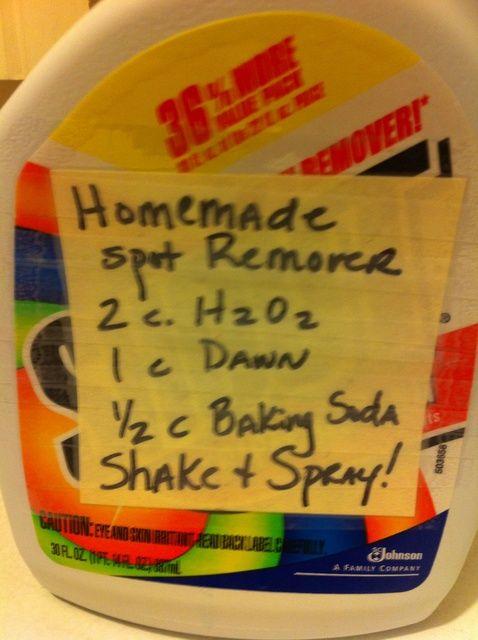 Cómo hacer casera lavandería Stain Remover