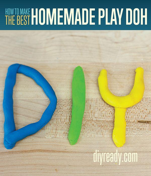 Cómo hacer juego hecho en casa Doh | Receta Playdough