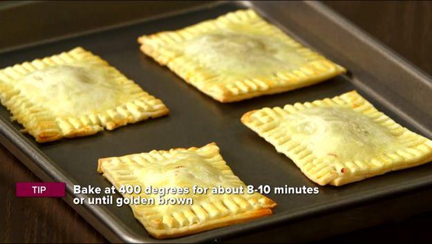 DIY fácil Pop tartas Receta | http://artesaniasdebricolaje.ru/how-to-make-homemade-pop-tarts/