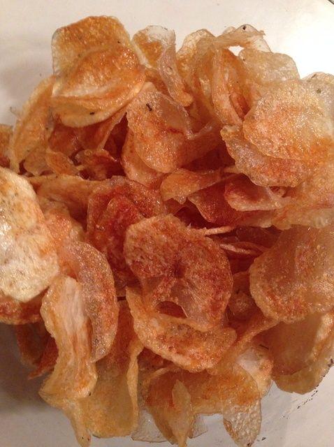 Cómo hacer patatas fritas hechas en casa Receta