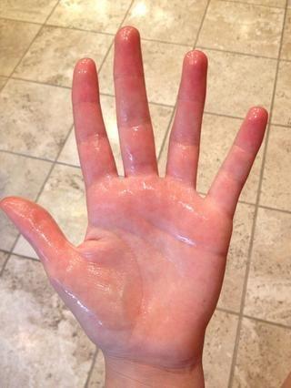 Engrasar las manos!