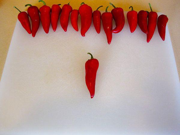 Cómo hacer salsa casera Sriracha caliente
