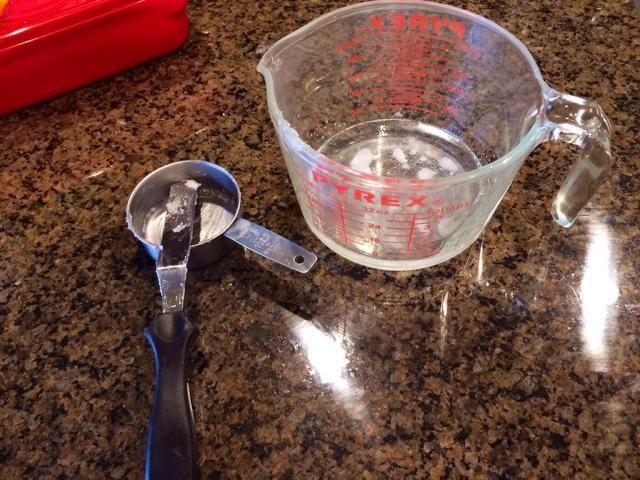 Yo calentados el aceite de coco durante 30 segundos sólo para que sea más fácil de mezclar. ✅1 / 2 taza