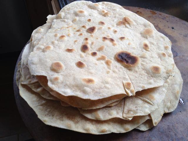 Voila! Tortillas imperfectos pero delicioso!