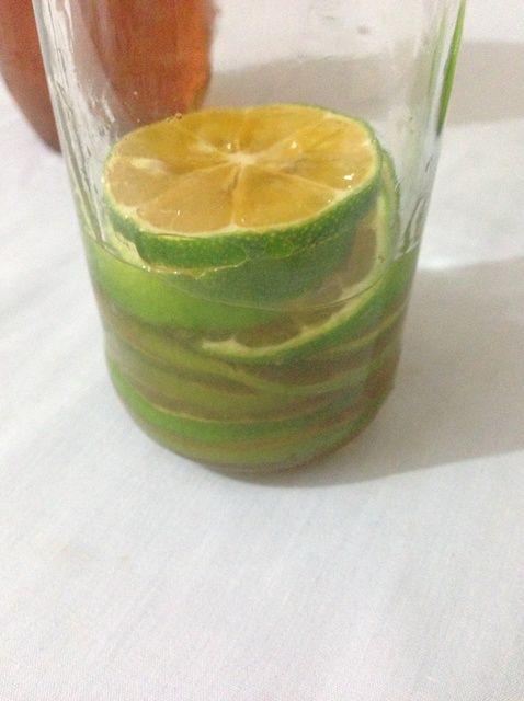 Cómo hacer la miel de limón Receta