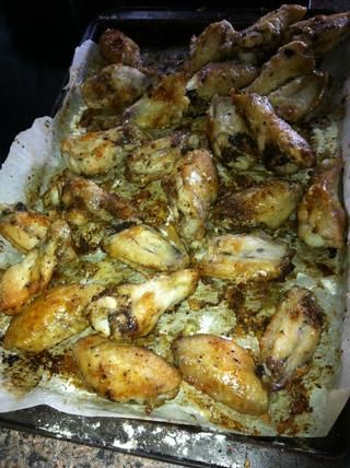 Así es como las alas deben cuidar de que estén completamente cocidos.