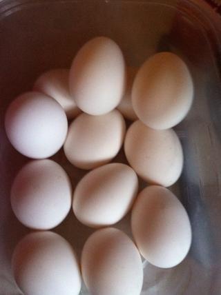 Añadir los huevos!