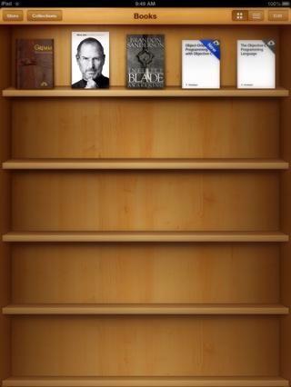 Seleccione el libro que desea leer. Dejar's choose