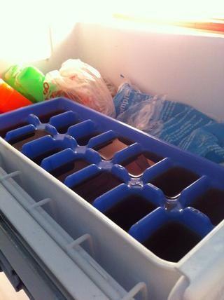 Poner en el congelador y enfríe hasta congelado! ❄⛄
