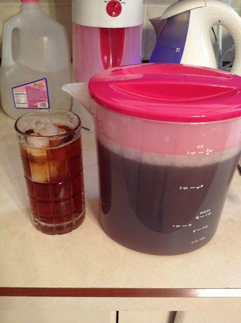 Cómo hacer té helado en un Tetera Iced Sin ICE! Receta