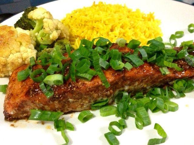 Cómo hacer Spiced-india Filete de salmón Receta