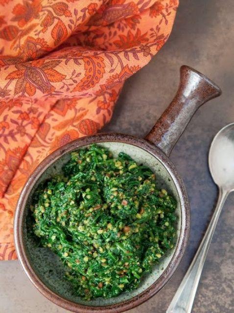 Cómo hacer Indian Style espinacas Receta