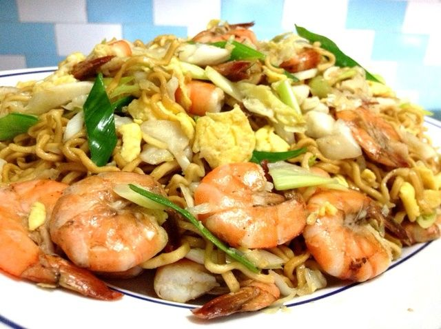 Cómo hacer indonesio frito fideos (Bakmi Goreng) Receta