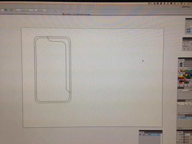 Dibuja un patrón, la mía su 14cm x 7.5cm y esquina redondeada 1cm