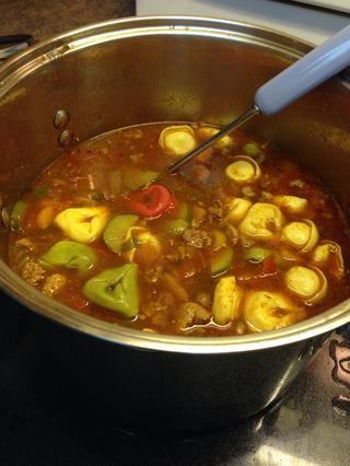 Tenga cuidado de no quemar. La receta Margaret me dio dijo 3 horas pero la mía se hizo antes. Me gustan las verduras ligeramente firme, pero no crudo ... no blanda.