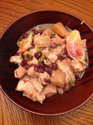 Añadir 3 / 4-1 taza de la cena de olla eléctrica y disfrutar!