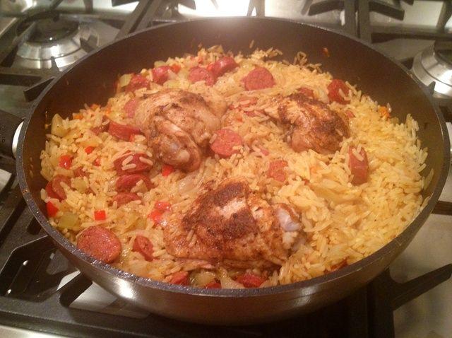 Cómo hacer Jambalaya - un Cajun Dish ¿Te gusta española Paella Receta