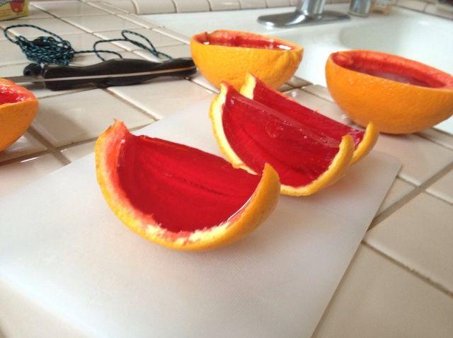 Cómo hacer Jello naranjas Receta