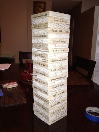 Todos los bloques fueron sellados en un lado y se're ready to go. They were a big hit!