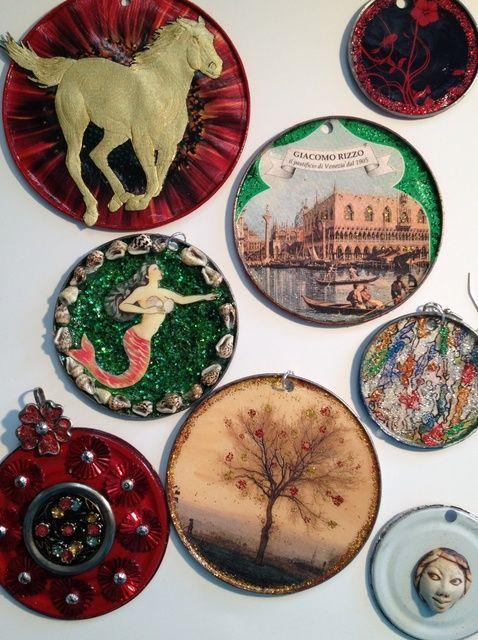 Cómo hacer joyería o decoración Fuera de Tin Can Tapas