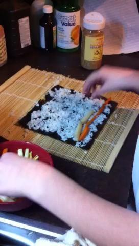 Rodadura Sushi.